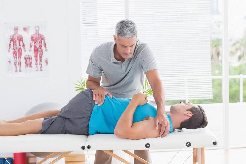 فیزیوتراپی برای درمان سرخوردگس مهره کمر